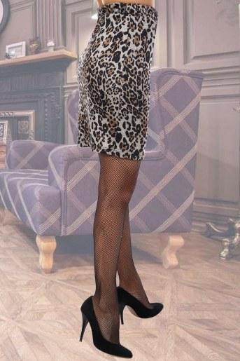 Юбка Мадемуазель (Леопард) (Фото 2)