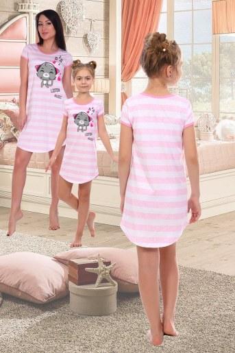 Сорочка Русалка детская (Розовый) (Фото 2)