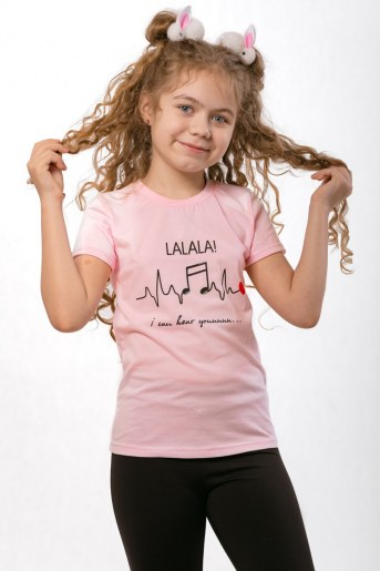 Футболка Блогер детская (Розовый) - Фаина