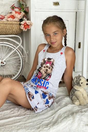 Юбка 5064 детская (Собаки) (Фото 2)