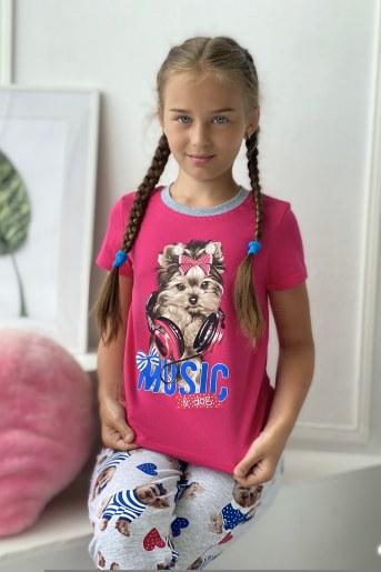Футболка 5059 детская - Фаина