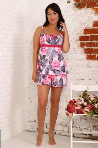 Пижама 4000 (Цветы) - Фаина