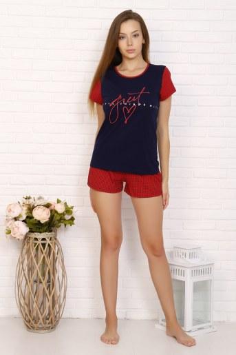Пижама 5606 (Красный) - Фаина
