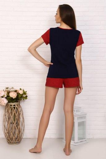 Пижама 5606 (Красный) (Фото 2)