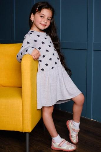Платье 10487 детское (Звезды) (Фото 2)
