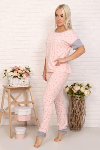 Пижама 22502 (Розовый) - Фаина