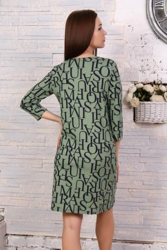 Платье 10503 (Хаки) (Фото 2)