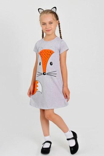 Платье Лисичка детское (Серый) - Фаина